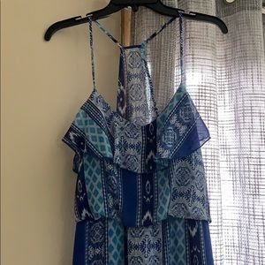 Blue Maxi Dress by City Triangles